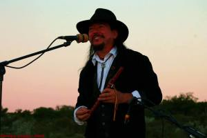 Native American Musician, Randy Granger