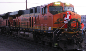 The Holiday Open House at the Railroad Museum in December was a huge success.