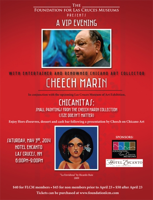 Invitation to Cheech Marin Event