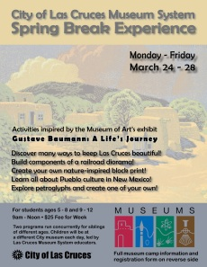 Spring Break Experience at the City Museums: Monday - Friday, March 24-28