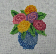 Punch Embroidery Example