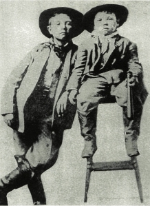 Image of Temple and Bud Abernathy