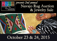 2nd annual Navajo Rug Auction and Jewelry Sale