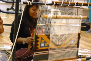 Rug Weaving Demonstration