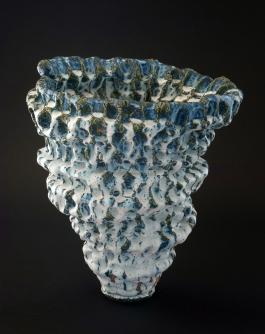 Satoru Hoshino, First Snow of Spring Vase- Glazed stoneware